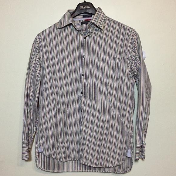 152dc2ba Tommy Hilfiger Shirts | Mens Long Sleeve Striped Shirt L | Poshmark
